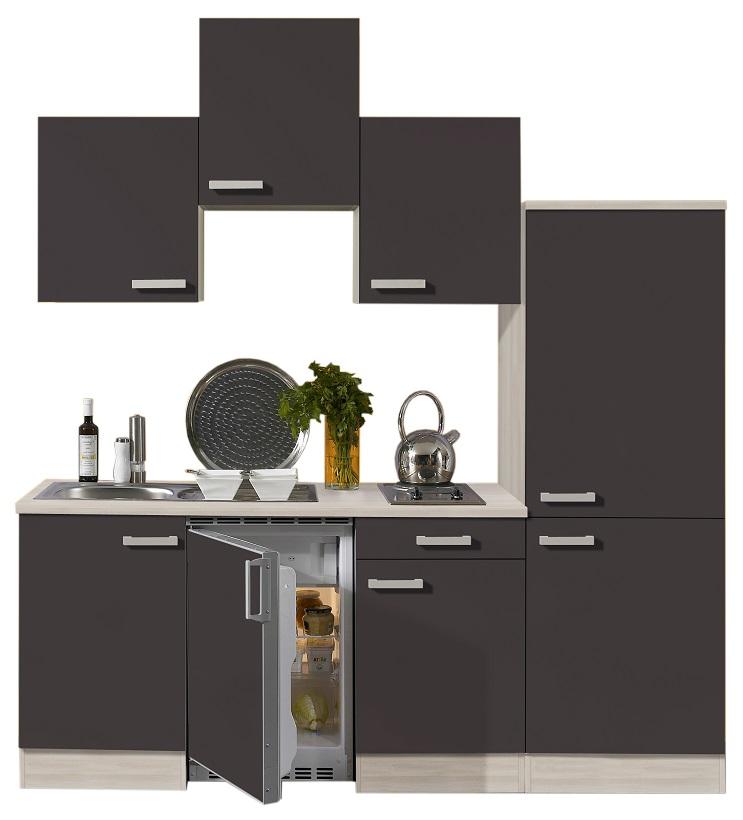 Optifit küchenzeile faro mit e geräte breite 210 cm