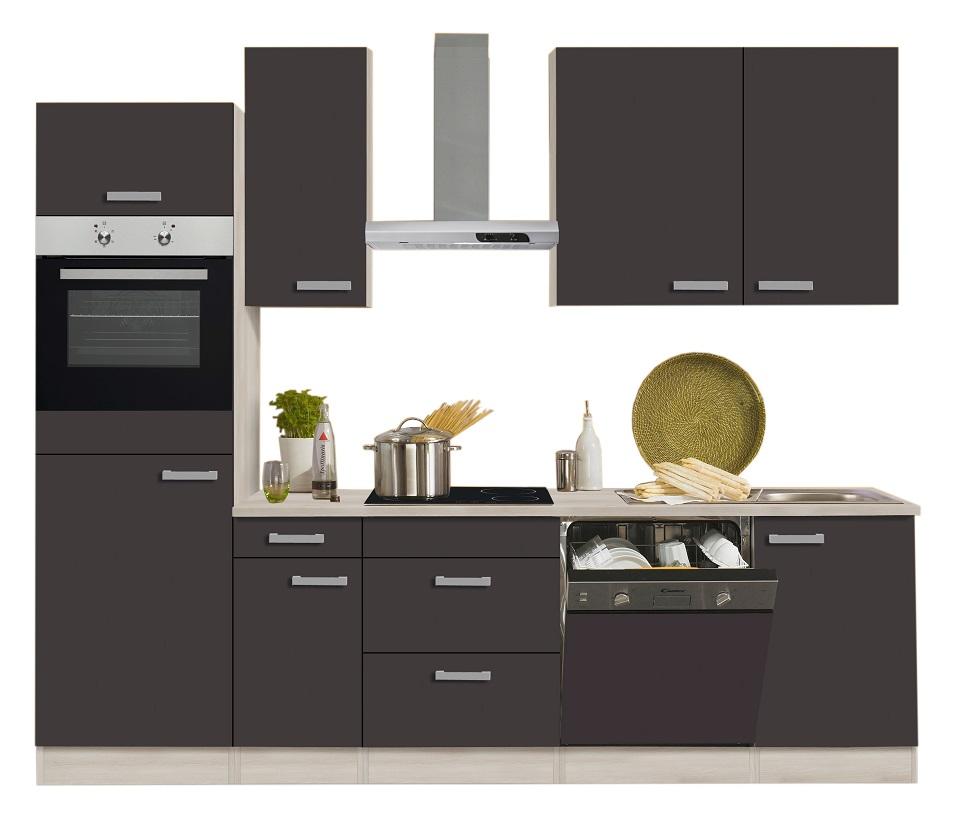 Optifit küchenzeile faro mit e geräte breite 270 cm