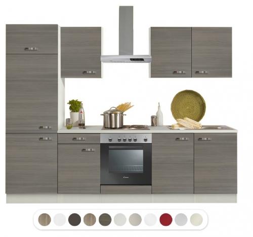 Optifit Küchenzeile Mit E Geräte Breite 270 Cm Baylango