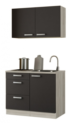 optifit minik che anthrazit mit e ger te breite 100 cm. Black Bedroom Furniture Sets. Home Design Ideas
