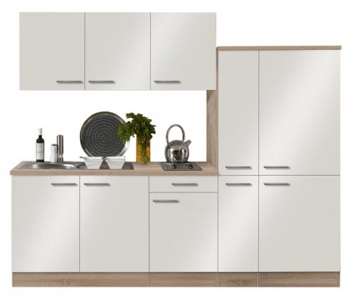 Optifit Küchenzeile mit E-Geräte »Dakar«, Breite 240 cm