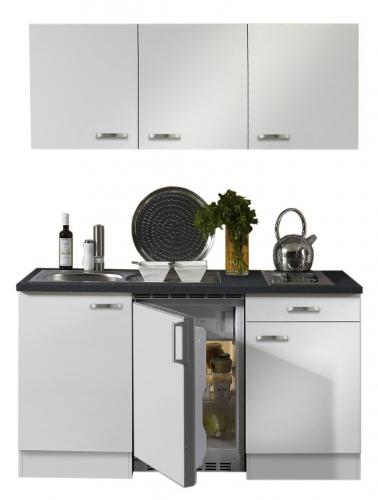 Optifit Singleküche »Mini«, Breite 150 cm, mit E-Geräte »Lagos«