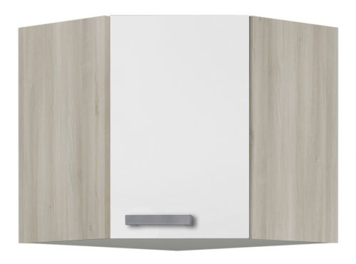 OPTIFIT Eck-Hängeschrank »Genf«, weiß, Breite 60 x 60 cm