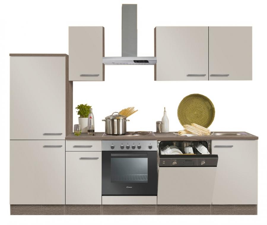 Optifit kuchenzeile mit e gerate breite 270 cm for Optifit küchen