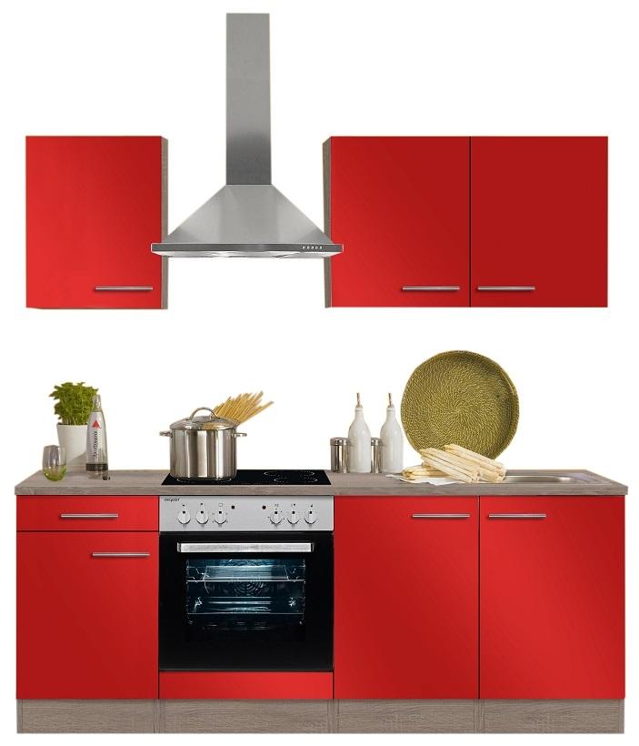 Optifit Küchenzeile Imola Mit E Geräte Breite 210 Cm