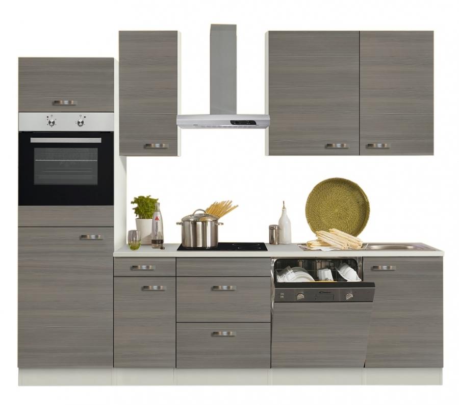 Gut Optifit Küchenzeile Mit E Geräte »Vigo«, Breite 270 Cm