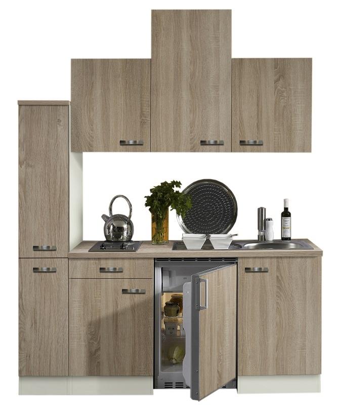 Optifit Singleküche »Mini«, Breite 180 Cm, Mit E Geräte »Padua«