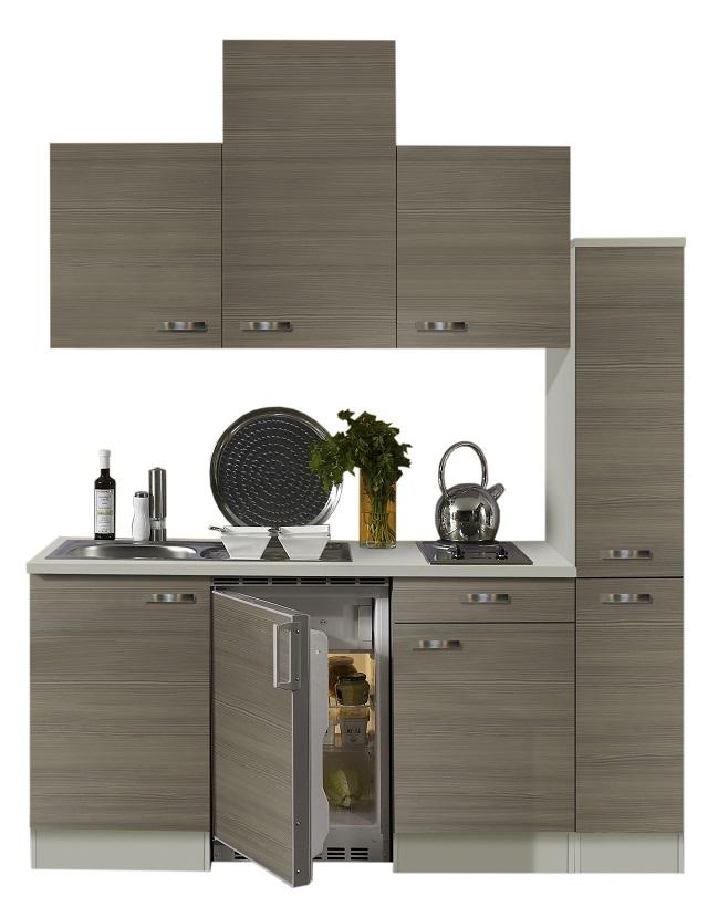Optifit Singleküche »Mini«, Breite 180 Cm, Mit E Geräte »Vigo«