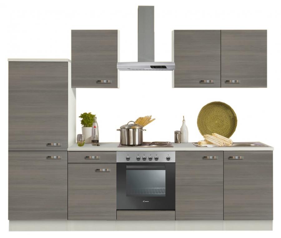 Optifit Küchenzeile Mit E Geräte »Vigo«, Breite 270 Cm