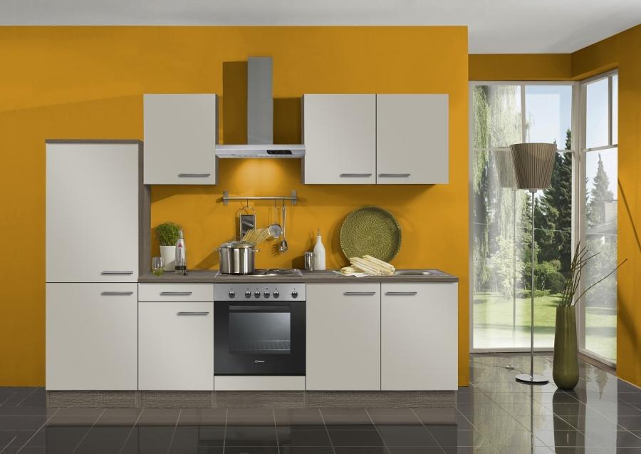 Optifit Küchenzeile Mit E Geräte »Arta«, Breite 270 Cm