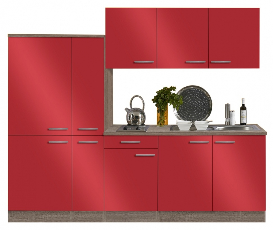 OPTIFIT Küche mit E-Geräten »Imola«, Breite 240 cm