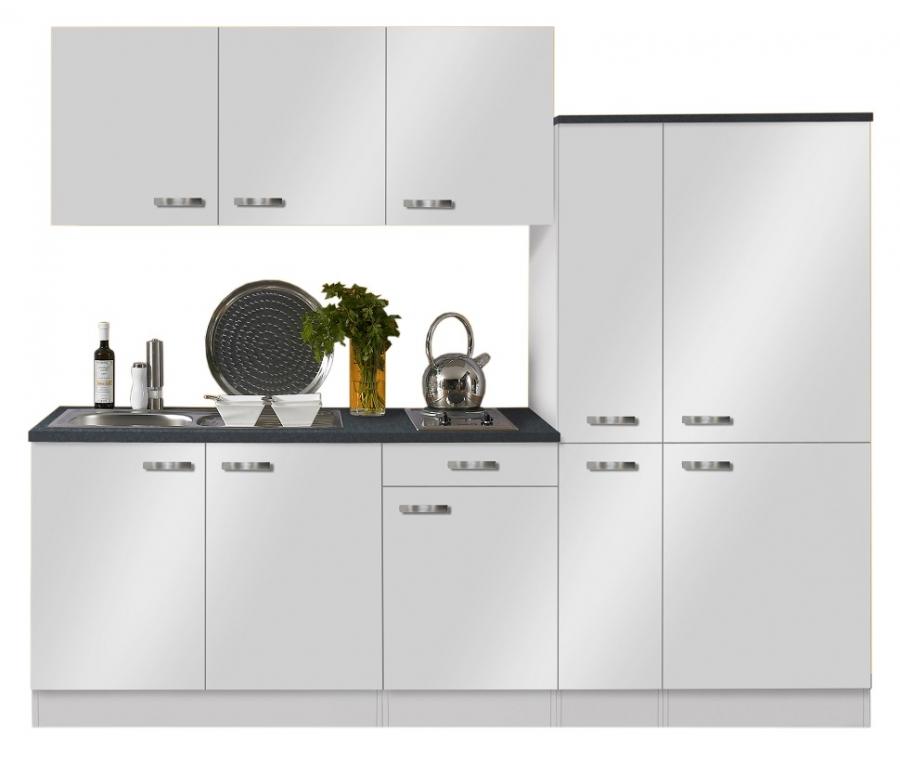 OPTIFIT Küche mit E-Geräten »Lagos«, Breite 240 cm
