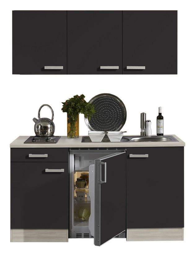 Optifit Miniküche »Faro«, mit Kühlschrank, 150 cm breit