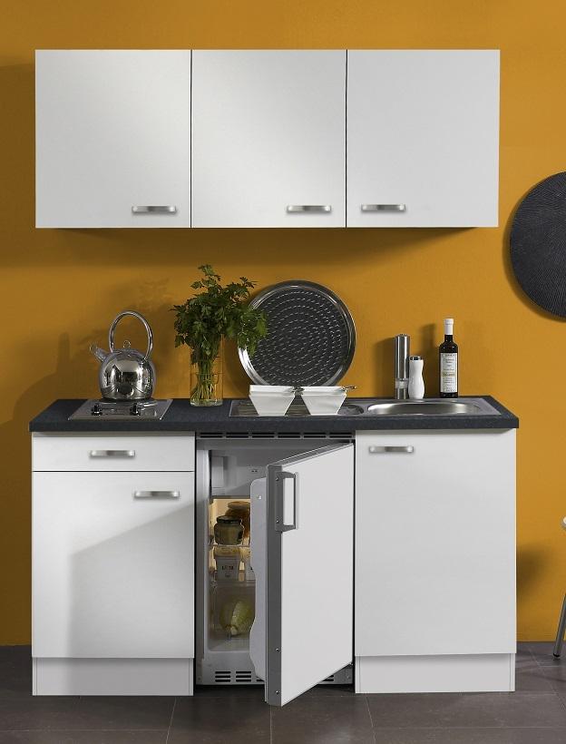 Optifit Miniküche »Lagos«, Kühlschrank, 150 cm breit