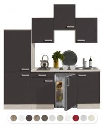 Optifit Miniküche mit E-Geräte, Breite 210 cm
