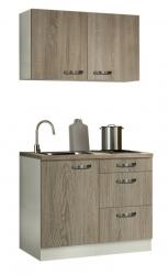 Optifit Miniküche mit E-Geräte »Padua«, Breite 100 cm