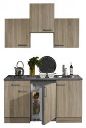 Optifit Singleküche »Mini«, Breite 150 cm, mit E-Geräte »Neapel«