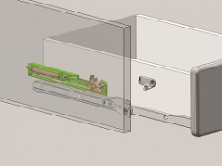 Optifit Miniküche mit E-Geräte »Faro«, Breite 100 cm