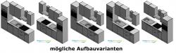 Optifit Küchenzeile mit E-Geräte »Padua«, Breite 270 cm
