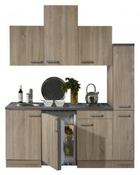 Optifit Singleküche »Mini«, Breite 180 cm, mit E-Geräte »Neapel«