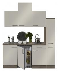 Optifit Singleküche »Mini«, Breite 180 cm, mit E-Geräte »Arta«