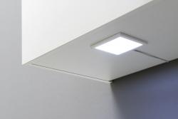 Singleküche TOLEDO - mit Elektro-Kochfeld - Breite 190 cm - Pinie Nougat - »Vigo«