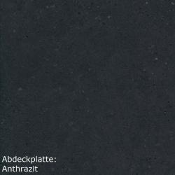 Singleküche GRANADA - mit Elektro-Kochfeld - Breite 190 cm - Weiß - »Lagos«
