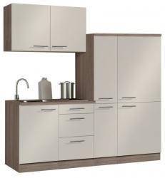 Optifit Singleküche »Mini«, Breite 190 cm, mit E-Geräte »Arta«