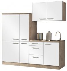 Optifit Singleküche »Mini«, Breite 190 cm, mit E-Geräte »Dakar«