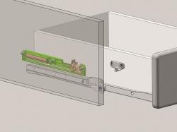 Optifit Küchenzeile mit E-Geräte »Genf«, Breite 240 cm