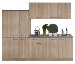 Optifit Küchenzeile mit E-Geräte »Neapel«, Breite 240 cm