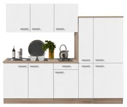 Optifit Küchenzeile mit E-Geräte »Zamora«, Breite 240 cm
