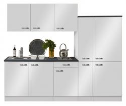 Optifit Küchenzeile mit E-Geräte »Lagos«, Breite 240 cm