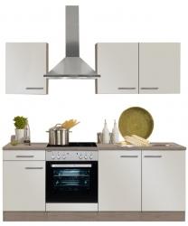 Optifit Küchenzeile ohne E-Geräte »Arta«, Breite 210 cm, beige