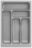 Optifit Küchenzeile mit E-Geräte »Faro«, Breite 210 cm, grau
