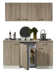 Optifit Singleküche »Mini«, Breite 150 cm, mit E-Geräte »Padua«