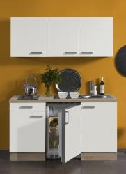 Optifit Singleküche »Mini«, Breite 150 cm, mit E-Geräte »Zamora«