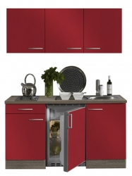 Optifit Singleküche »Mini«, Breite 150 cm, mit E-Geräte »Imola«