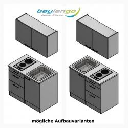 Optifit Miniküche mit E-Geräte, Breite 100 cm