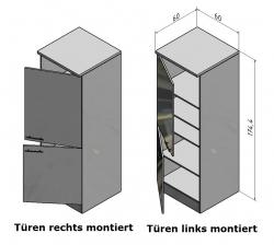OPTIFIT Hochschrank »Vigo«, Pinie, Breite 60 cm
