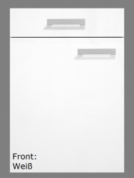 OPTIFIT Spülenschrank »Oslo«, weiß, Breite 100 cm