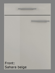 OPTIFIT Hängeschrank »Arta«, beige Seidenglanz, Breite 100 cm
