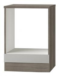 OPTIFIT Herdumbauschrank »Arta«, beige Seidenglanz, Breite 60 cm