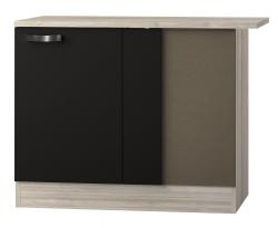 OPTIFIT Eckunterschrank »Faro«, grau, Breite 110 cm