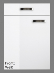 OPTIFIT Eck-Hängeschrank »Lagos«, weiß Seidenglanz, Breite 60 x 60 cm
