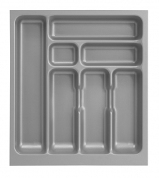 Optifit Küchenzeile ohne E-Geräte »Faro«, Breite 270 cm, grau
