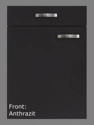 Optifit Küchenzeile mit E-Geräte »Faro«, Breite 270 cm, grau
