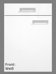 Optifit Küchenzeile ohne E-Geräte »Genf«, Breite 270 cm, weiß
