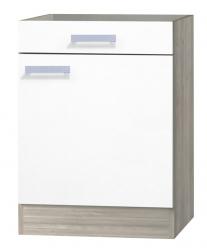 OPTIFIT Unterschrank »Genf« ohne Arbeitsplatte, weiß, Breite 60 cm