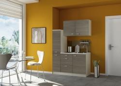 Optifit Miniküche mit E-Geräte »Neapel«, Breite 150 cm